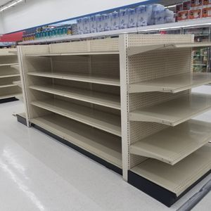 Gondola Shelving Fixture Stand Display Double Sided Endcap Unit for Sale in Hialeah, FL
