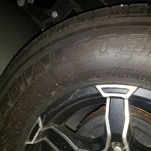 Trailer tires 15 inch wheel rubber only 5 tires for Sale in Garland, TX