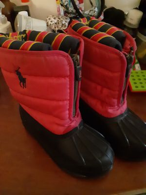 Girls Ralph Lauren snow boots. Excellent condition for Sale in Philadelphia, PA