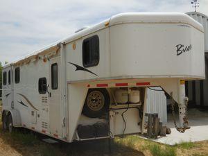 2007 31' BISON 380TE TRAIL EXPRESS GOOSENECK 3 HORSE TRAILER W/ LIVING AREA AZ for Sale in Litchfield Park, AZ