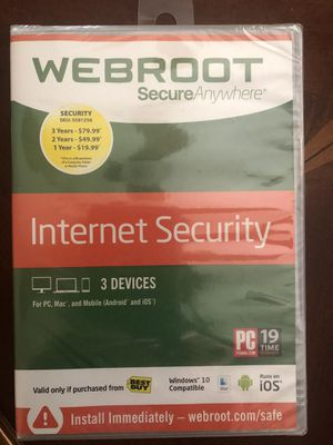 New Webroot 3 devices for Sale in Tracy, CA