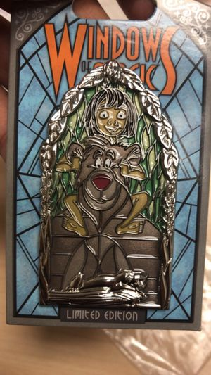 Disney Windows of Magic Ballo Jungle Book Pin LE 2000 for Sale in San Leandro, CA