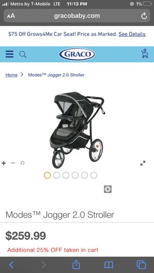 Jogger stroller - Graco for Sale in Dallas, TX