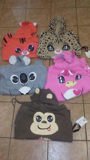 Animal Hoodies w/Ears (Limited Supply) for Sale, used for sale  Brooklyn, NY