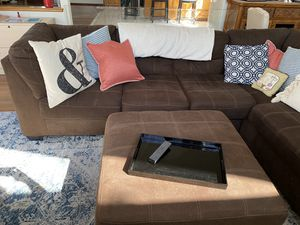 Brown sectional sofa for Sale in San Jose, CA