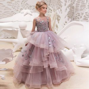 Little Girls Pageant Quinceañera / Flower Girl Dress - Size 6-7 (youth) NWT for Sale in Round Rock, TX