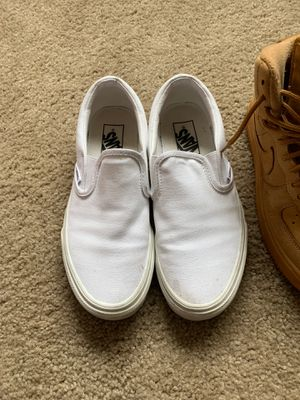 Vans size 7.5 woman & Nike Air Force 5.5 Y 24cm for Sale in Auburn, WA