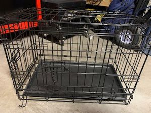 LIKE NEW - Small Pet Wire Crate, Carrier, Cage, Kennel (dog/cat) for Sale in Chandler, AZ