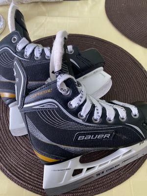 Bauer supreme ice skates for Sale in Bartlett, IL