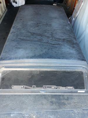 Black snugtop truck camper shell for Sale in Anaheim, CA