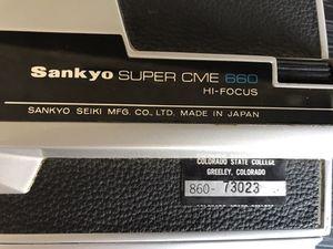 Vintage Sankyo Super CME 660 Hi-Focus Movie Camera for Sale in Austin, TX