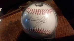SIGNED ken griffey jr baseball & cards for Sale in Olympia, WA