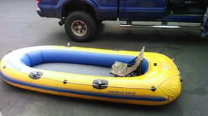 Inflatable boat two person for Sale in Battle Ground, WA