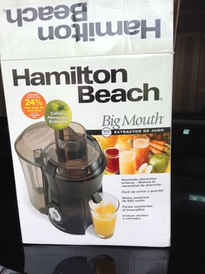 Hamilton Beach Big Mouth Juicer for Sale in Joliet, IL