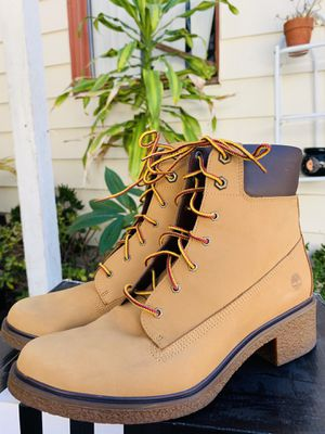 Timberland boots, Used Once, Size 9 for Sale in Long Beach, CA