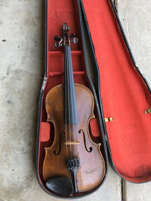 old violin in case with bow for Sale in West Covina, CA
