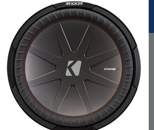 12 inch kicker comp r with box for Sale in Port Orchard, WA