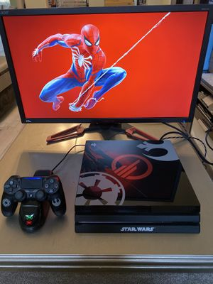 1TB PLAYSTATION 4 PRO with Spider-Man for Sale in Stockton, CA