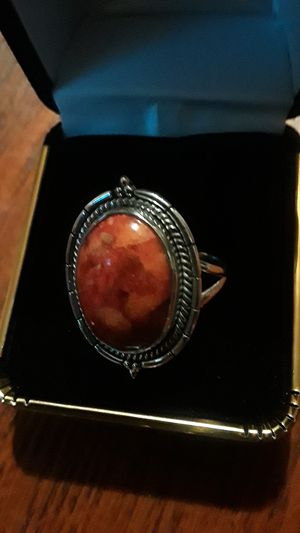 Gorgeous Sterling Silver 925 genuine stone ring. Size 8. for Sale in Queens, NY