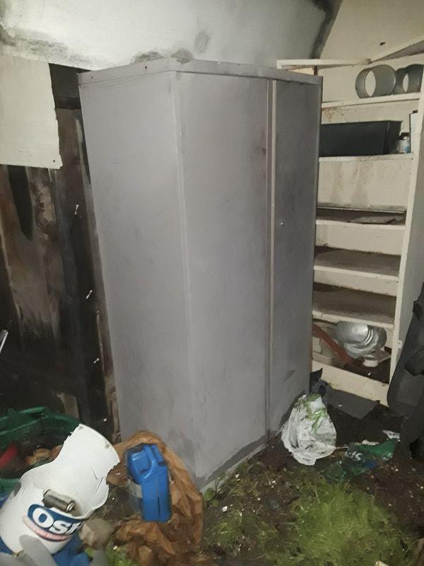 metal storage shed