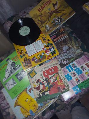 Walt disney records for Sale in Odessa, TX