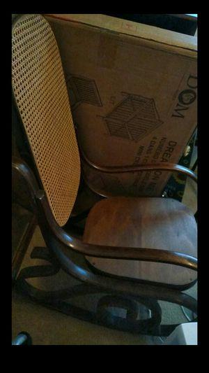 Wicker rocking chair for Sale in Wenatchee, WA