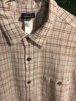 Men's Patagonia Organic Cotton button up polo for Sale in Lakewood, CO