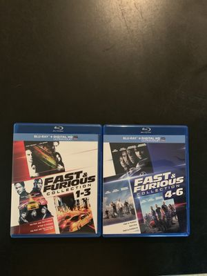The Fast & Furious 1-6 for Sale in Morrisville, PA