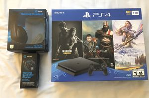 PS4 1TB Bundle W. 3 Games - BRAND NEW for Sale in Miami Gardens, FL
