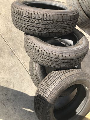 Michelin Lattitude Tour p235/65/18 new take off tires for Sale in Anaheim, CA