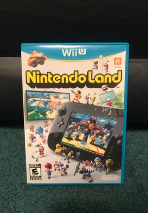 Nintendo Land for Wii U Great Condition for Sale in Salisbury, MD