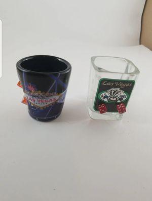 2 Las Vegas collection Shot Glasses for Sale in San Antonio, TX