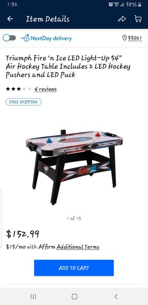 Air hockey table for Sale in Hollywood, FL