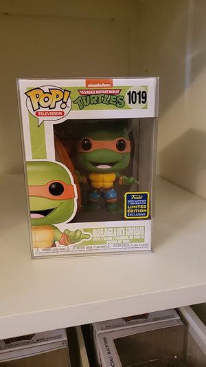 Pop TV Michelangelo with surfboard for Sale in Phoenix, AZ
