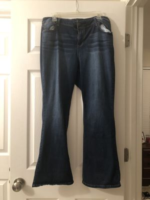 Women's Jeans size 16 (two pair) for Sale in Florissant, MO
