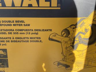 DeWalt 12 INCH Sliding Compound Miter Saw for Sale in Laurel,  MD