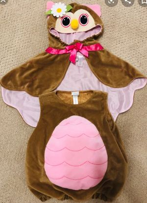 Baby owl Halloween costume 3-6 months for Sale in Fort Worth, TX