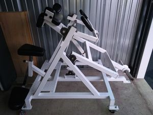 Flex Leverage Plate Loaded Arm Curl for Sale in Algonquin, IL