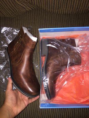 Sazzi Cognac women's boots/shoes. Sz 9.5 BRAND NEW for Sale in Ellenwood, GA