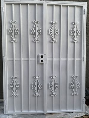 Wrought Iron Security Double Doors for Sale in Clovis, CA