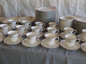 Diane Fine Porcelain China Japan 95 pc set see last photo for list for Sale in Baldwin Park,  CA