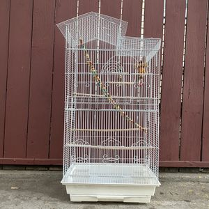 Large Bird Cage (accessories Included) for Sale in Los Angeles, CA