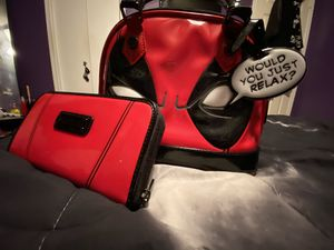 Loungefly Deadpool Bag Purse and Clutch for Sale in Arlington, TX