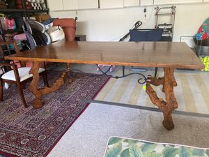 Farm table large /conference table. Solid for Sale in Stuart, FL