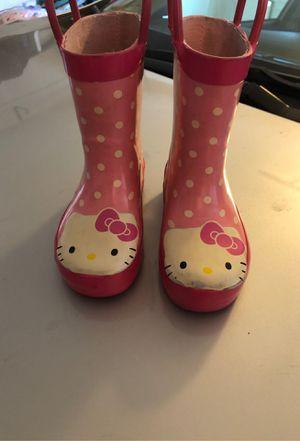 Hello kitty rain boots for Sale in Mentone, CA