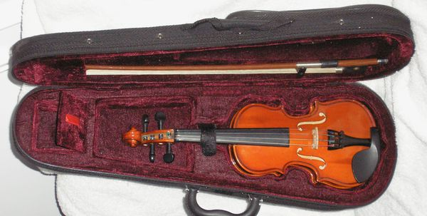 1/16 Violin Outfit for Young Child or Neonate