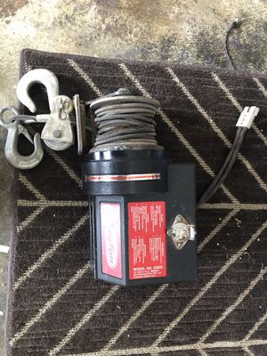 Dayton truck winch 3500 lb capacity for Sale in Spring, TX