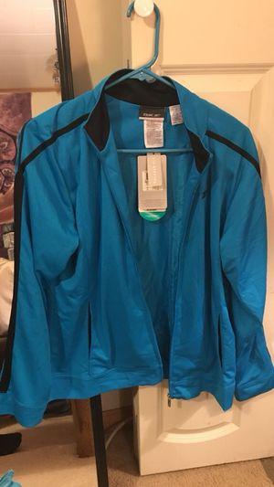 Women's large Reebok blue zip-up jacket for Sale in Trenton, NJ