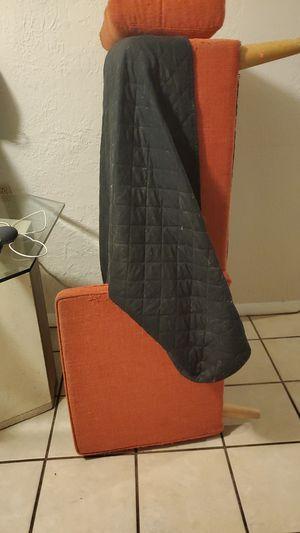 Orange couch for Sale in Hudson, FL