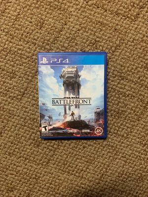 Star Wars Battlefront PS4 Edition for Sale in Haines City, FL